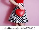 Fashion Small Heart Shape Red...