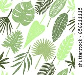 seamless pattern of hand drawn... | Shutterstock .eps vector #656211115