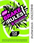 break the rules   release... | Shutterstock .eps vector #656225848