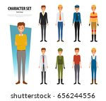people group different... | Shutterstock .eps vector #656244556