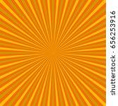sun rays. sun with rays... | Shutterstock .eps vector #656253916