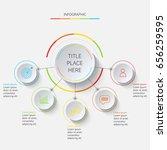 multicolored linear... | Shutterstock .eps vector #656259595
