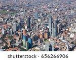 view of the center of bogota ... | Shutterstock . vector #656266906