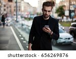 confident young man  ... | Shutterstock . vector #656269876