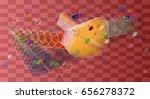 fall design pattern | Shutterstock .eps vector #656278372