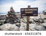 mount washington summit new... | Shutterstock . vector #656311876