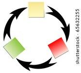 flow diagram   Shutterstock .eps vector #65632255