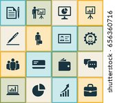 trade icons set. collection of... | Shutterstock .eps vector #656360716