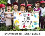 Small photo of Kids Education Knowledge Field Trip Summer Camp Graphic