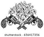 guns | Shutterstock .eps vector #656417356