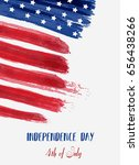 usa independence day background.... | Shutterstock .eps vector #656438266