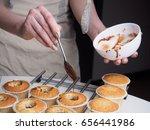 Baking Cupcakes. Filling...