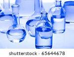 laboratory glassware  research... | Shutterstock . vector #65644678