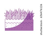 grass icon image | Shutterstock .eps vector #656476126