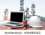 engineering industry concept in ... | Shutterstock . vector #656484262