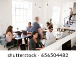 young business colleagues... | Shutterstock . vector #656504482