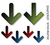 vector download stickers | Shutterstock .eps vector #65653945