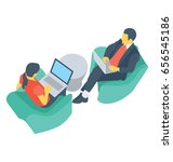 discuss  colored vector icon   Shutterstock .eps vector #656545186