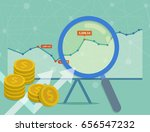 vector concept of investment... | Shutterstock .eps vector #656547232