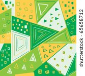 seamless geometric pattern ... | Shutterstock .eps vector #65658712