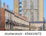 English Terraced Houses In...