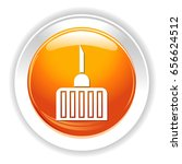 medical needle icon | Shutterstock .eps vector #656624512