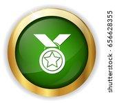 medal icon | Shutterstock .eps vector #656628355