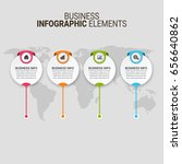 modern infographic paper...   Shutterstock .eps vector #656640862