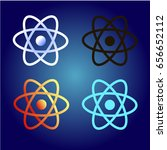 electron set of images of