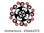 tribal tattoo | Shutterstock .eps vector #656662372