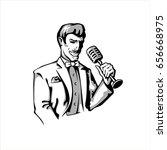 gangster | Shutterstock .eps vector #656668975