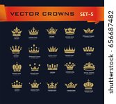 vector collection of creative... | Shutterstock .eps vector #656687482