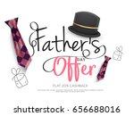 illustration sale banner poster ... | Shutterstock .eps vector #656688016
