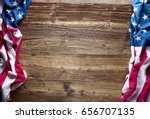independence day. usa flag. | Shutterstock . vector #656707135