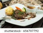 beef steak | Shutterstock . vector #656707792