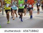 marathon | Shutterstock . vector #656718862