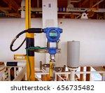 pressure transmitter  and... | Shutterstock . vector #656735482