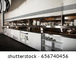 professional kitchen  view... | Shutterstock . vector #656740456