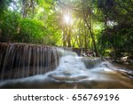 landscape photo  huay mae kamin ...   Shutterstock . vector #656769196