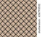 seamless intersecting geometric ... | Shutterstock .eps vector #656793532