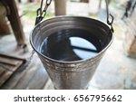 bucket of well water | Shutterstock . vector #656795662