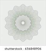 green rosette or money style... | Shutterstock .eps vector #656848906