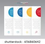 modern info graphic template... | Shutterstock .eps vector #656860642