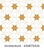 japanese gold background and... | Shutterstock .eps vector #656870326