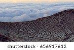 mount bromo volcano  east java  ... | Shutterstock . vector #656917612