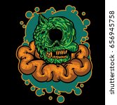 zombie | Shutterstock .eps vector #656945758