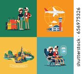 cool vector illustrations on... | Shutterstock .eps vector #656975326