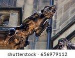 Gothic Style Gargoyle On St...