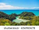 abel tasman national park.  new ...   Shutterstock . vector #656983678