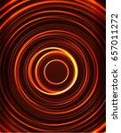 neon orange circles vector... | Shutterstock .eps vector #657011272